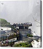Iquazu Falls - South America Acrylic Print