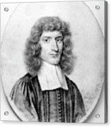 Isaac Barrow (1630-1677) Acrylic Print