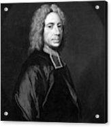 Isaac Watts (1674-1748) Acrylic Print