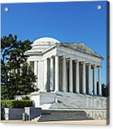Jefferson Memorial Acrylic Print
