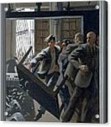 3. Jesus Drives Out The Money Changers / From The Passion Of Christ - A Gay Vision Acrylic Print