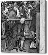 Jonathan Wild (c1682-1725) Acrylic Print