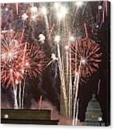 July 4th Fireworks Acrylic Print