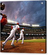 Kansas City Royals V Texas Rangers Acrylic Print