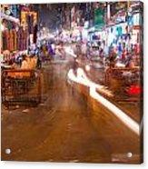 Katra Market Acrylic Print