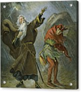 King Lear, 19th Century Acrylic Print