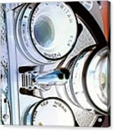 3 Lenses In Negative Acrylic Print