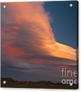Lenticular Clouds Over Alabama Hills Acrylic Print