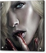 Lestat Licks Blood Acrylic Print