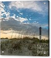 Sc Lighthouse View Acrylic Print