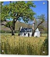 Little Farm House Acrylic Print