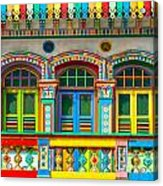 Little India - Singapore Acrylic Print