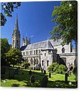 Llandaff Cathedral Acrylic Print