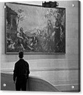 Looking At A Painting Acrylic Print