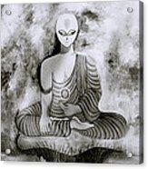Lotus Position Acrylic Print
