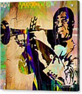 Louis Armstrong Collection Acrylic Print