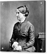 Lucy Hayes (1831-1889) Acrylic Print