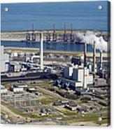 Maasvlakte, Europort, Rotterdam Acrylic Print
