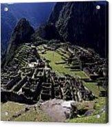 Machu Picchu Peru Acrylic Print