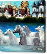 Magical Horses Acrylic Print