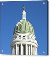 Maine State Capitol Building In Augusta Acrylic Print