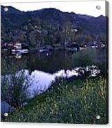Malibu Lake Acrylic Print