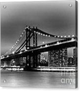 Manhattan Bridge New York City Acrylic Print
