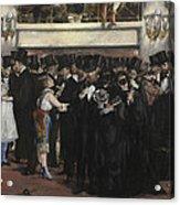 Masked Ball At The Opera Acrylic Print