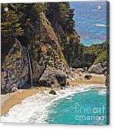 Mcway Falls Acrylic Print