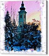 Christmas Card 22 Acrylic Print