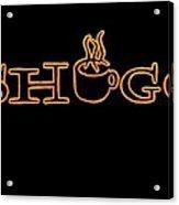 Meshuggah Cafe' Acrylic Print