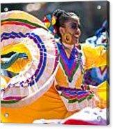 Mexican Folk Dancers Acrylic Print