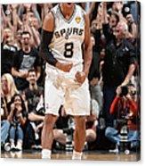 Miami Heat V San Antonio Spurs - 2014 Acrylic Print