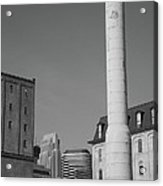 Minneapolis Smokestack Acrylic Print