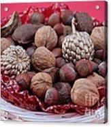 Mixed Holiday Nuts Acrylic Print