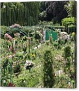 Monets Garden - Giverney - France Acrylic Print