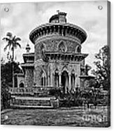 Monserrate Palace Acrylic Print by Jose Elias - Sofia Pereira
