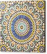 Morocco, Agdz, The Kasbah Of Telouet Acrylic Print