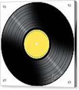 Music Record Acrylic Print