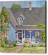 My Blue Heaven Acrylic Print by Mary Ellen Mueller Legault