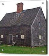 Nantucket's Oldest House Acrylic Print