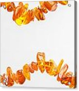 Natural Amber Necklace Acrylic Print