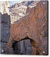 Natural Bridge Canyon Death Valley National Park Acrylic Print