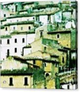 Navelli Village - Abruzzo - Italy Acrylic Print