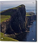 Neist Point Lighthouse Acrylic Print