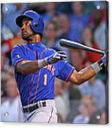 New York Mets V Chicago Cubs Acrylic Print