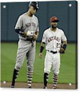 New York Yankees v Houston Astros Acrylic Print