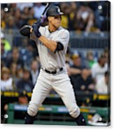 New York Yankees v Pittsburgh Pirates Acrylic Print