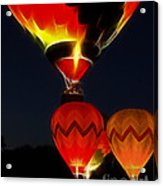 Night Of The Balloons Acrylic Print