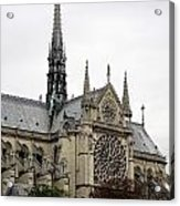 Notre Dame In Paris France Acrylic Print